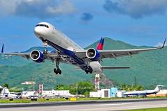 Delta Boeing 757-200 TNCM 09NOV2016