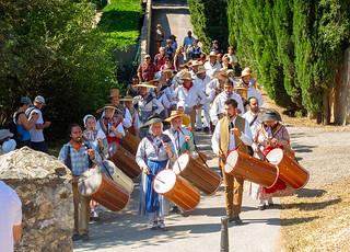 L'Escandihado arrive au moulin de Grimaud