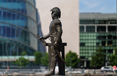 ADMIRAL BROWN [MEMORIAL LOCATED ON SIR JOHN ROGERSON'S QUAY IN DUBLIN DOCKLANDS]-141298