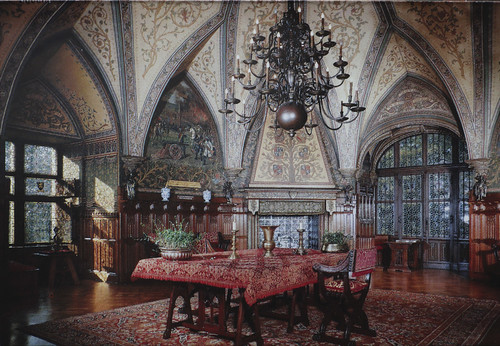 Gaasbeek Castle - The Hall of the Knights