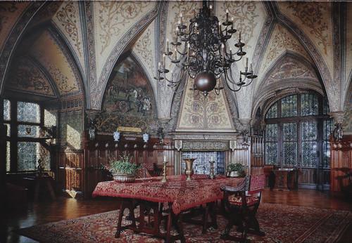 Gaasbeek Castle - The Hall of the Knights
