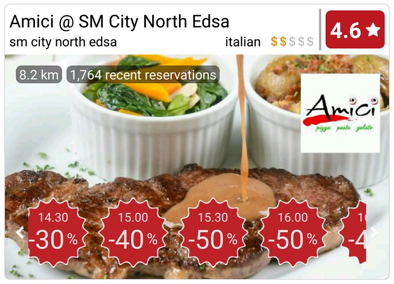 Eatigo Discount Amici