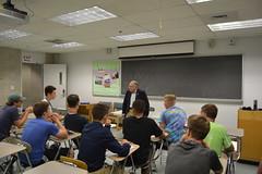 Rep. Simanski mentors Boys State Delegates on writing legislation
