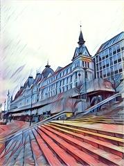 Streetscape In Oslo
