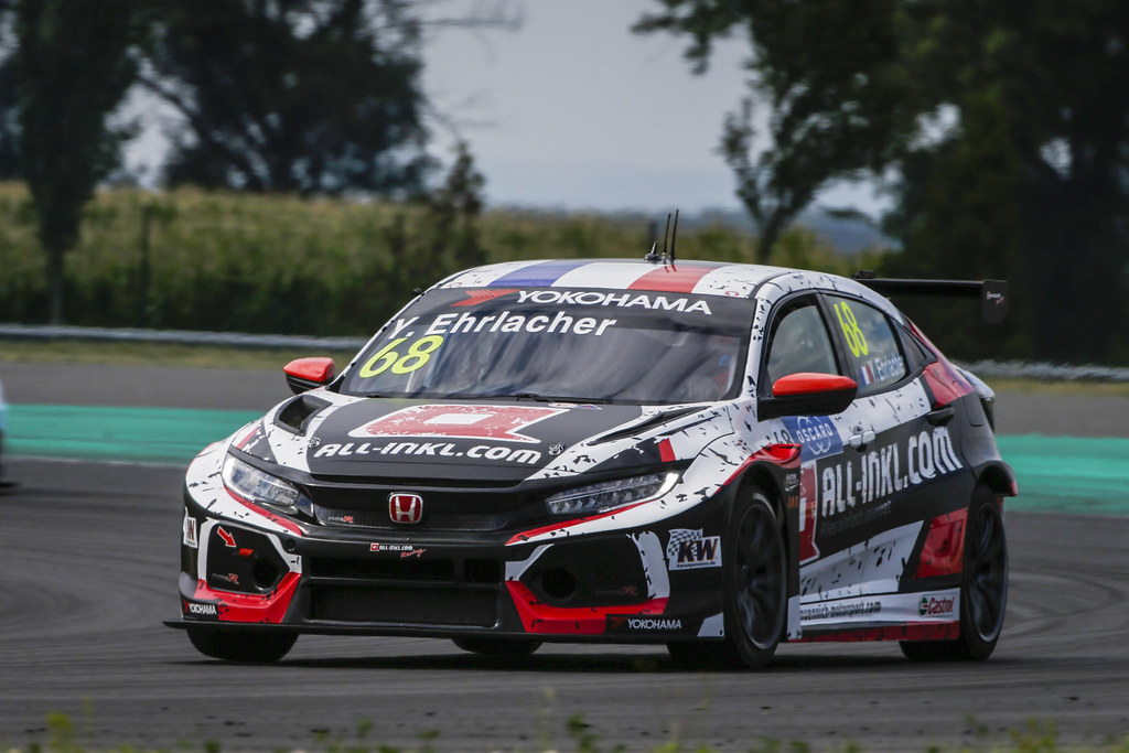 68 EHRLACHER Yann, (fra), Honda Civic TCR team ALL-INKL.COM Munnich Motorsport, action during the 2018 FIA WTCR World Touring Car cup race of Slovakia at Slovakia Ring, from july 13 to 15 - Photo François Flamand / DPPI.
