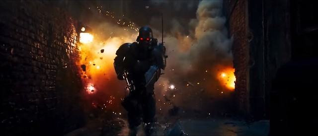 Jin-Roh The Wolf Brigade - Sewer Explosions