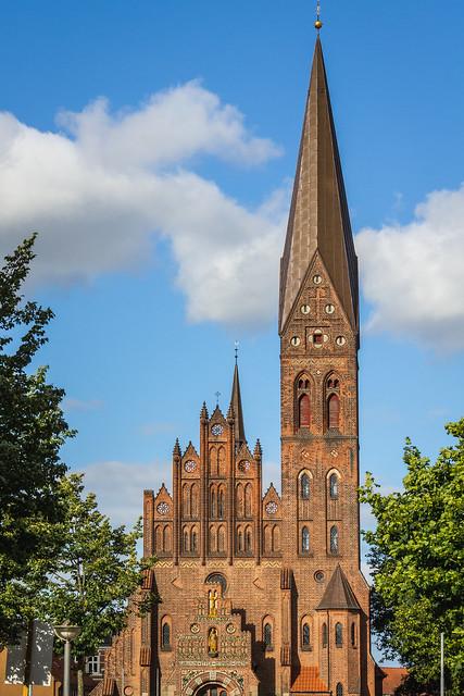 Denmark - Odense - Sankt Albani Kirke (St. Alban's  Church)