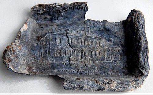 Tray picturing Washington's Headquarters found in NJ