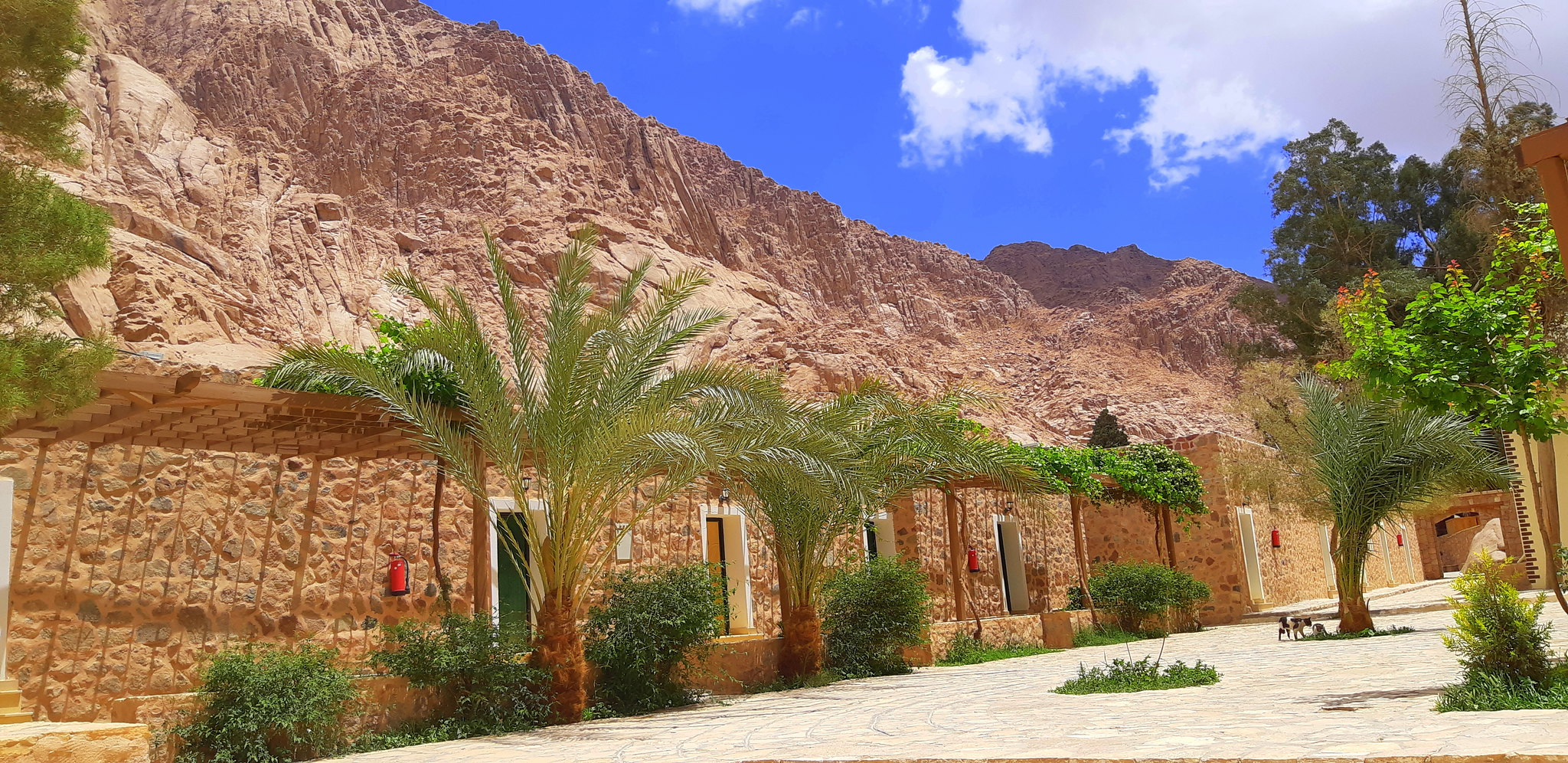 St.Catherine monastery is a day trip from Dahab