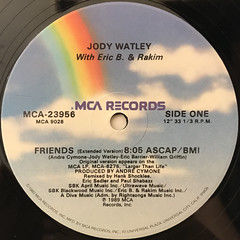 JODY WATLEY:FRIENDS(LABEL SIDE-A)