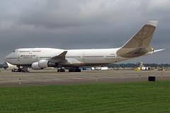 N322SG Atlas Air 747-481 at KCLE