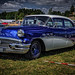 a cool blue & white BUICK classic car