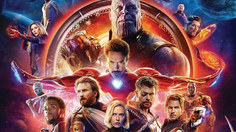Film Avengers: Infinity War salah satu film Marvel.