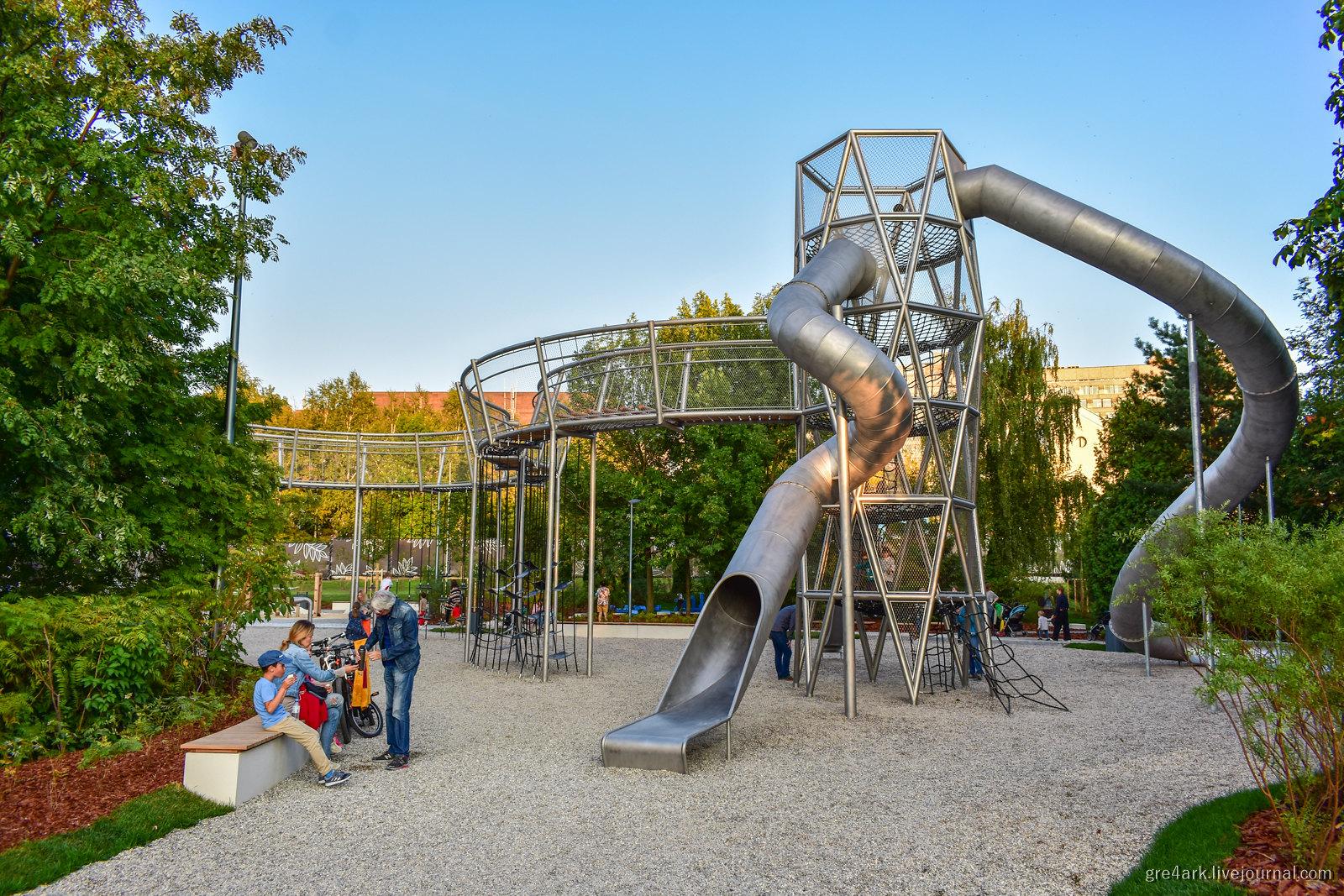 Лучшая детская площадка Москвы!