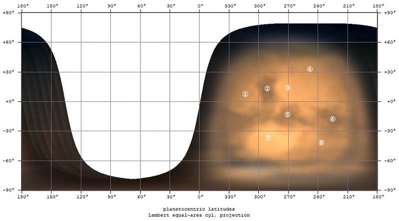 火星地図 (2018/7/31 22:00-25:00)