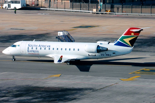 Airlines: SA Express [XZ/EXY]