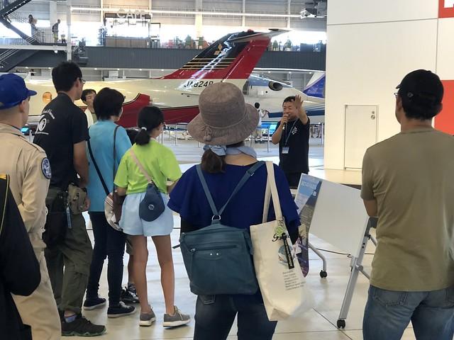 航空フェスティバル2018in愛知 空飛ぶたぬき氏 パイロットトークショー IMG_0733