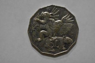 2004 Australian 50 Cent coin