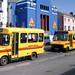 devon - red bus c342gjf & others barnstaple c1995 JL