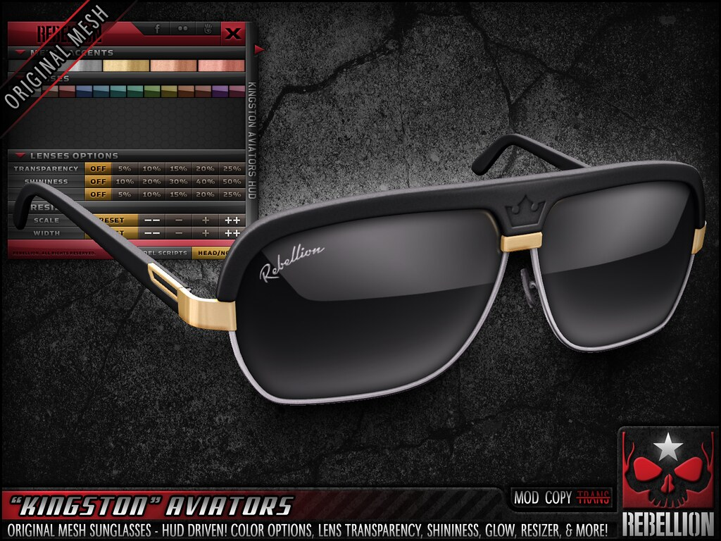 "= REBELLION = ""KINGSTON"" AVIATORS"