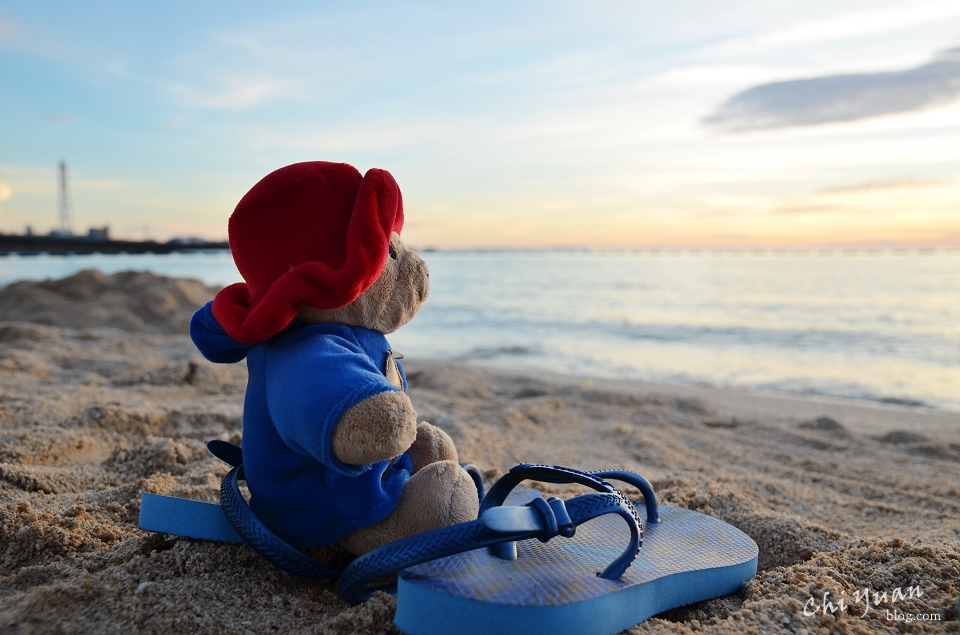 [日本。沖繩]宜野灣海濱公園。熱帶海灘Tropical Beach欣賞落日彩霞之美