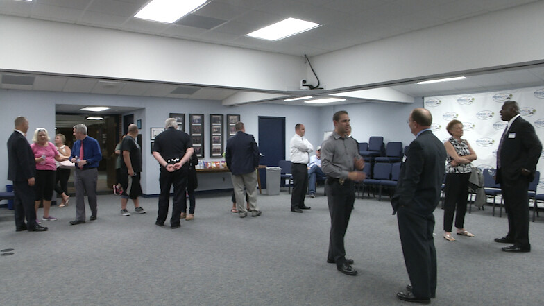 Residents MeetwithMeridian Township Police Chief Candidates