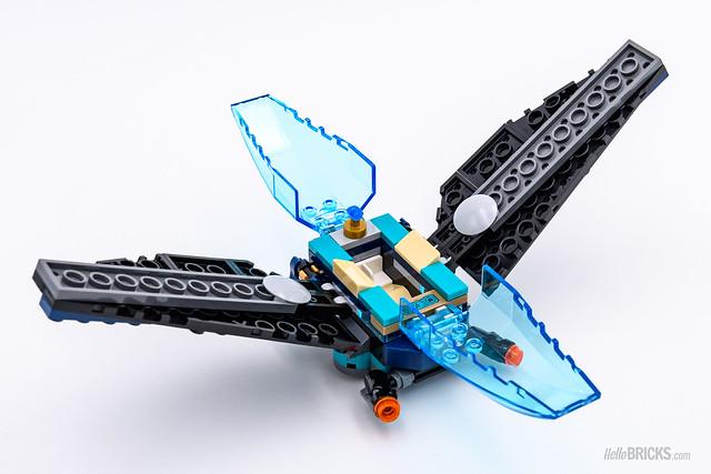 REVIEW LEGO Marvel 76101 Outrider Dropship Attack 4