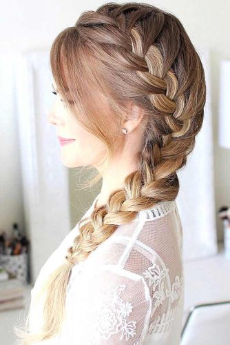 30+Most Stunning French Braid Hairstyles To Make You Amazed! 3
