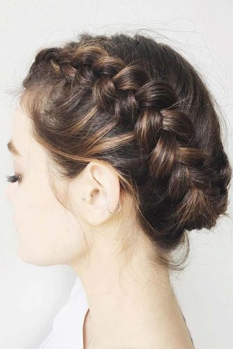 Most Stunning Braided Short Hair Styles To Top Level Of Beauty 8