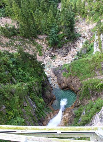 Pöllat gorge below Marienbrücke