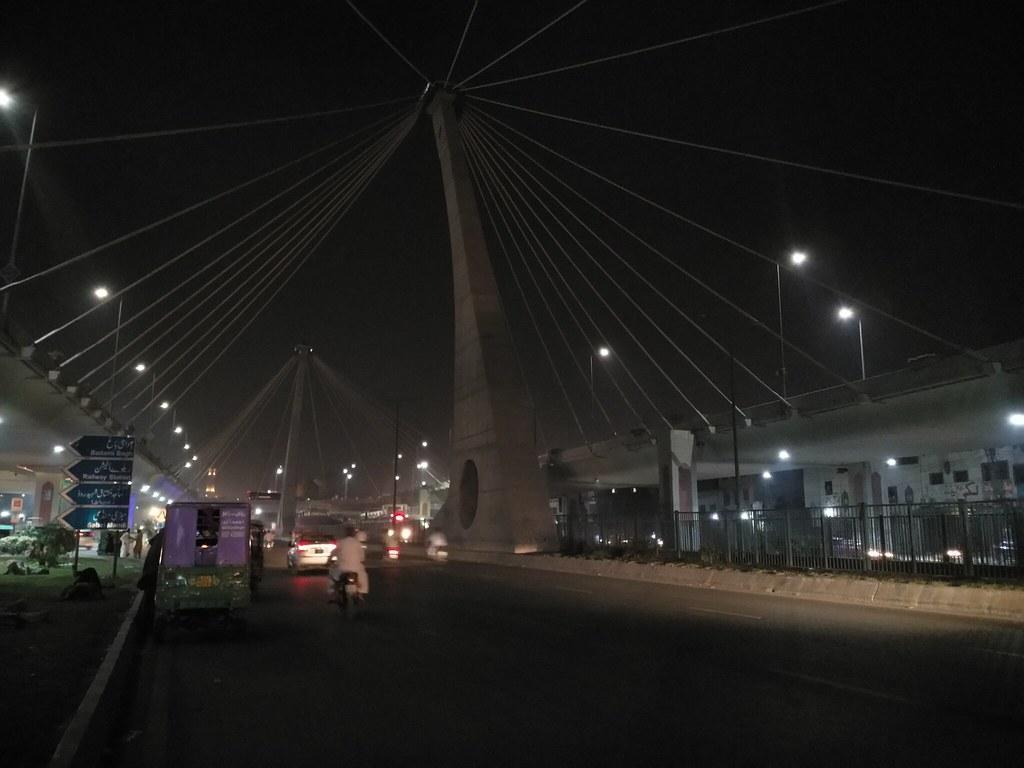 Azadi Chowk bridge Lahore