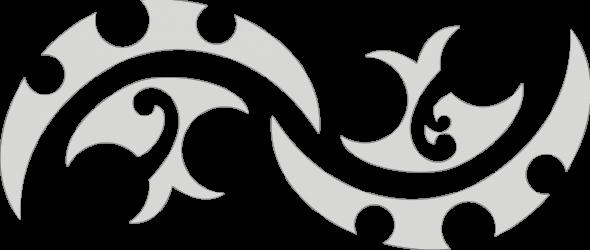 Maori tattoo - Rangi and Papa