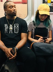 Brooklyn, subway ride.