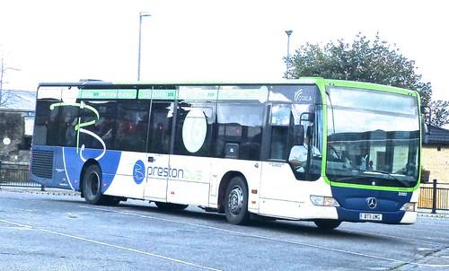 BT11 UWG 'preston bus' No. 33002. Mercedes-Benz Citaro on 'Dennis Basfords's railsroadsrunways.blogspot.co.uk'
