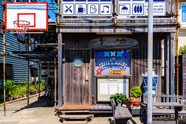 Beach house in Zaimokuza, Nikon D750, Tamron SP 35mm f/1.8 VC