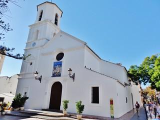 Iglesia de El Salvador (1697) Nerja-Málaga.