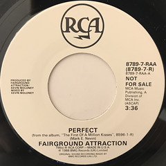 FAIRGROUND ATTRACTION:PERFECT(LABEL SIDE-B)