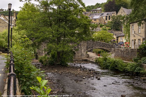 Old Packhorse Bridge, Hebden.