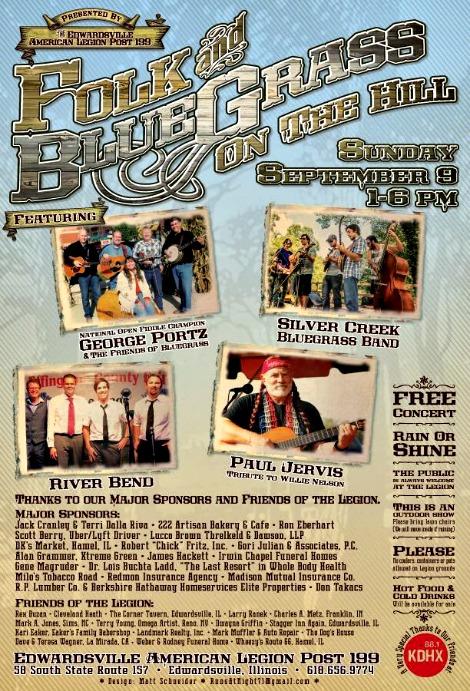 Folk and Blue Grass 9-9-18