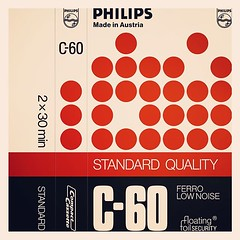 Cassettes: Philips Standard Quality C-60