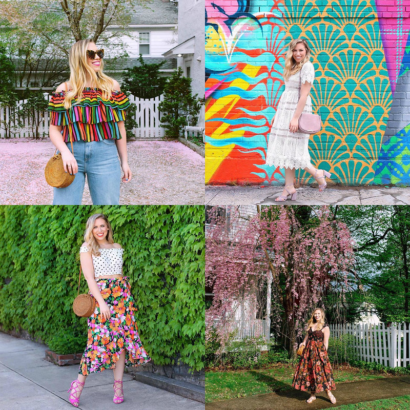 Colorful Summer Outfit Inspiration July 2018 Round Up Fashion Clothes Ideas