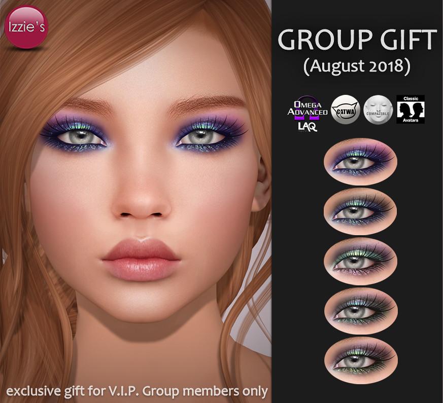 VIP Group Gift August - TeleportHub.com Live!