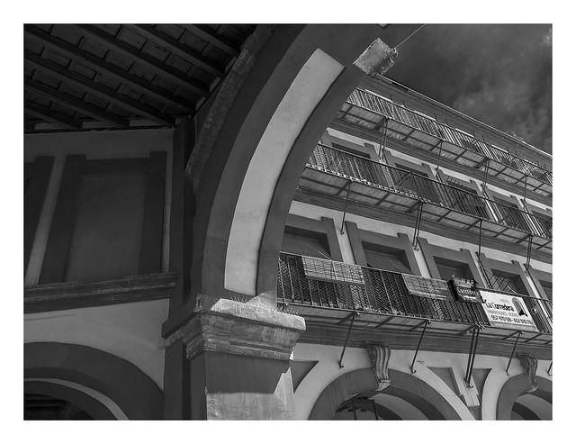 Plaza de Corredera C, Panasonic DMC-G5, Lumix G Vario 14-45mm F3.5-5.6 Asph. Mega OIS