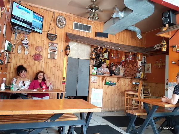 Los Arrieros Restaurante interior