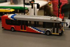 Wmata Metrobus New Flyer Xcelsior: LEGO® Moc