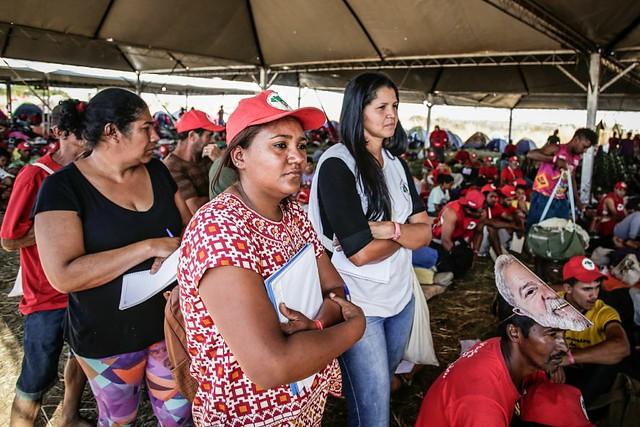 Durante marcha, camponeses realizam formação e debatem projeto popular para o Brasil