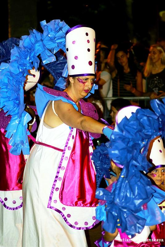 Участники Которского летнего карнавала