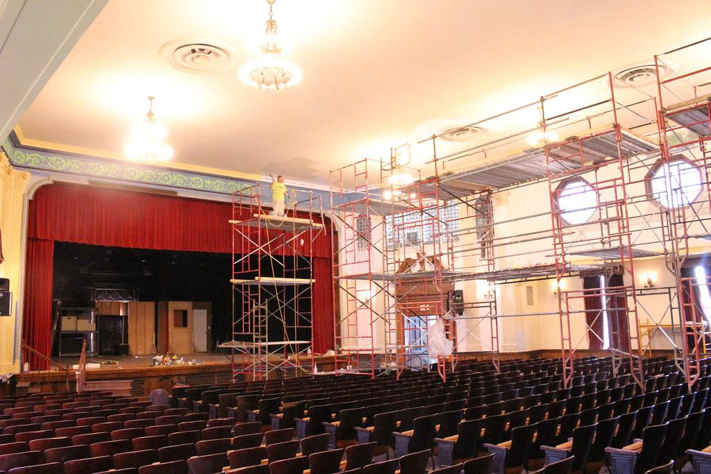 Matesich Theater Renovation