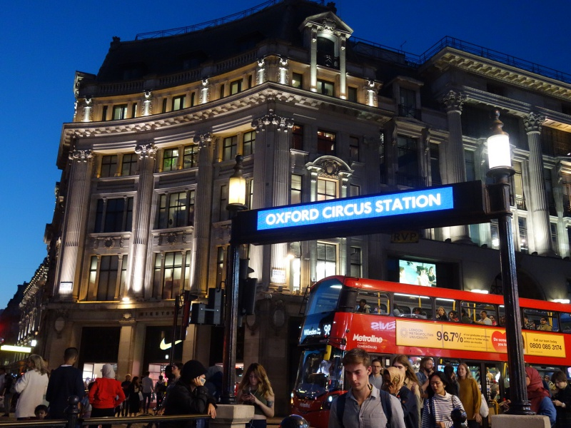 Oxford Circus Station