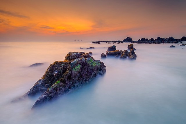 Sunrise at Batu Layar Johor